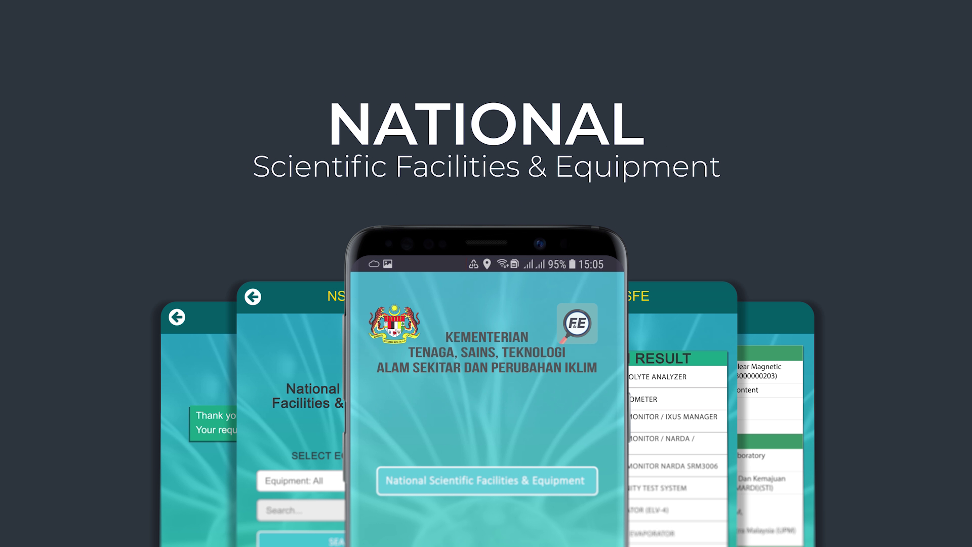 National Scientific Facilities & Equipment (NSFE)