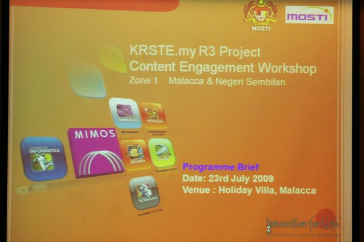 KRSTE.my R3 - Content Engagement Workshop (CEW)